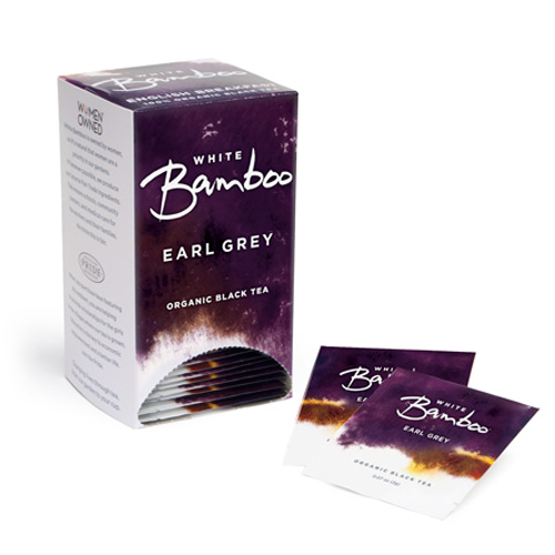 White Bamboo Tea Organic Earl Grey 25 Pc.