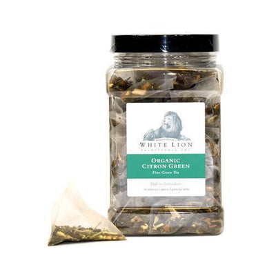 White Lion Organic Citron Green Tea