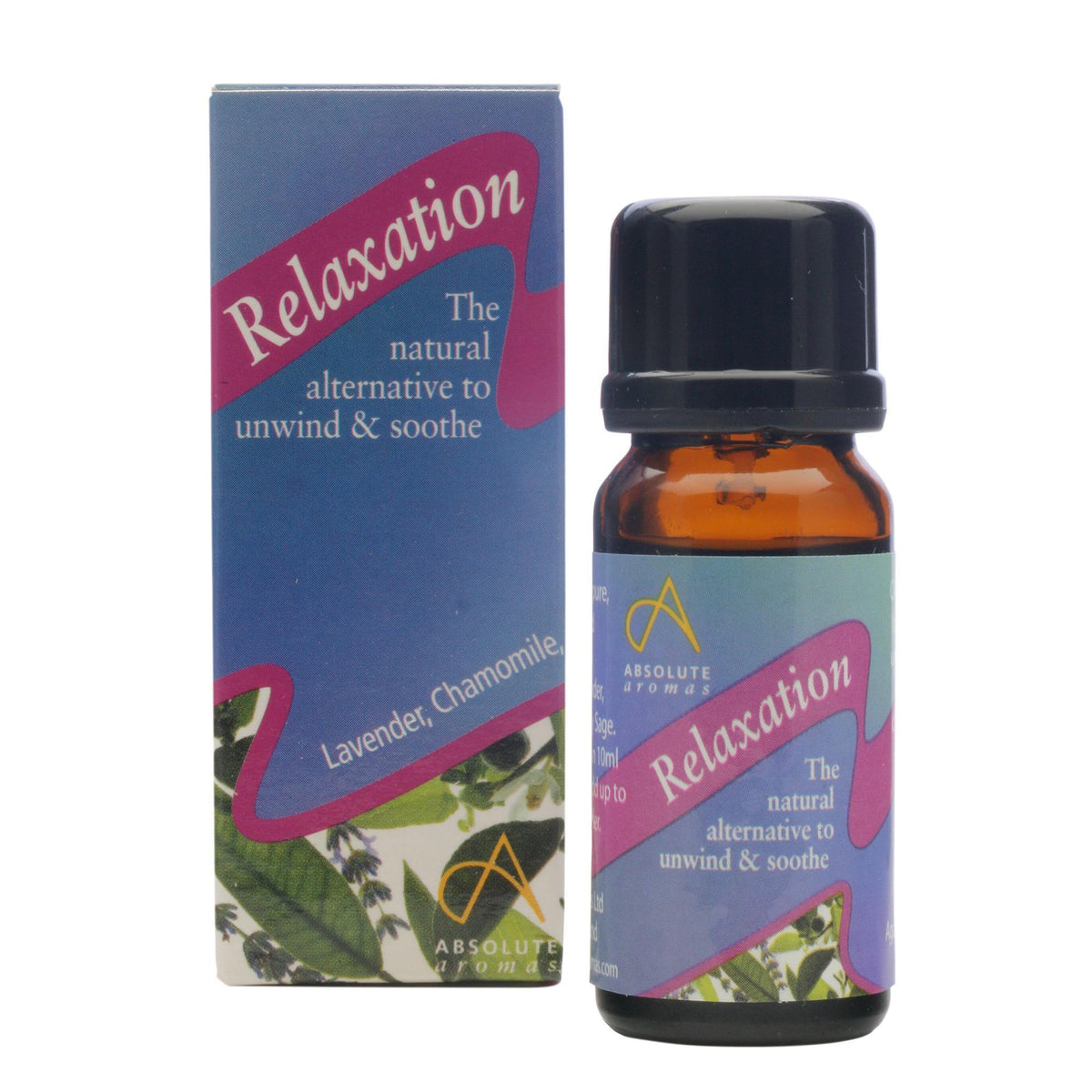 Absolute Aromas Relaxation Aromatherapy Blend 0.33 Fl. Oz.