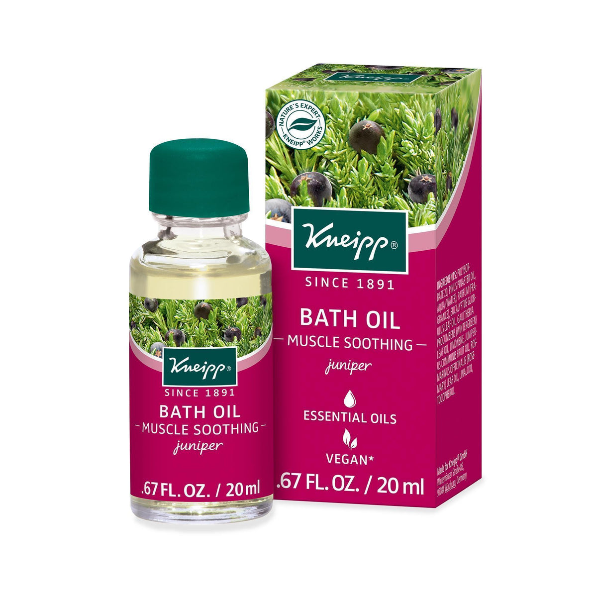 Kneipp Muscle Soothing Bath Oil