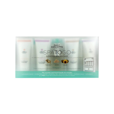Bath & Body Daily Concepts Spa To Go Set