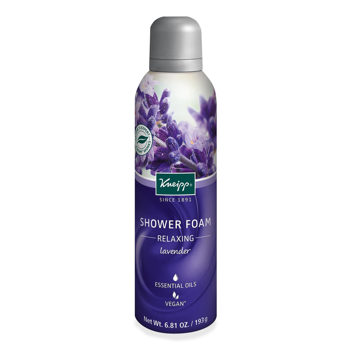 Kneipp Relaxing Shower Foam 6.81 Oz.
