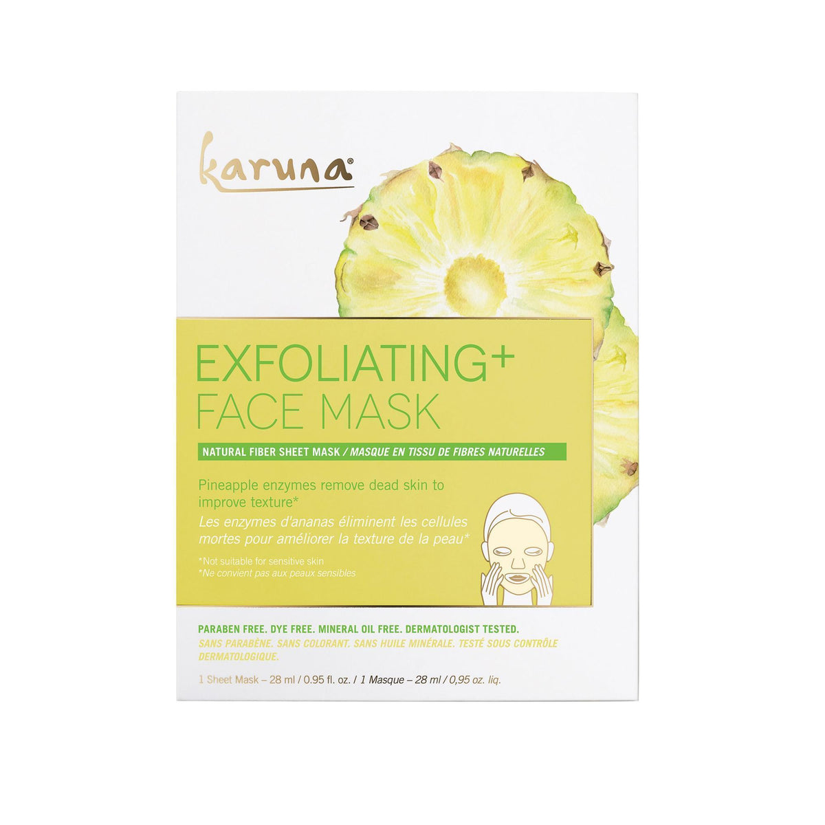 Karuna Exfoilating+ Face Mask