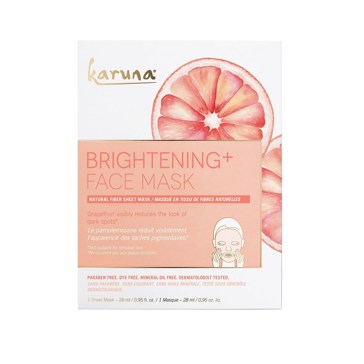 Karuna Brightening+ Face Mask