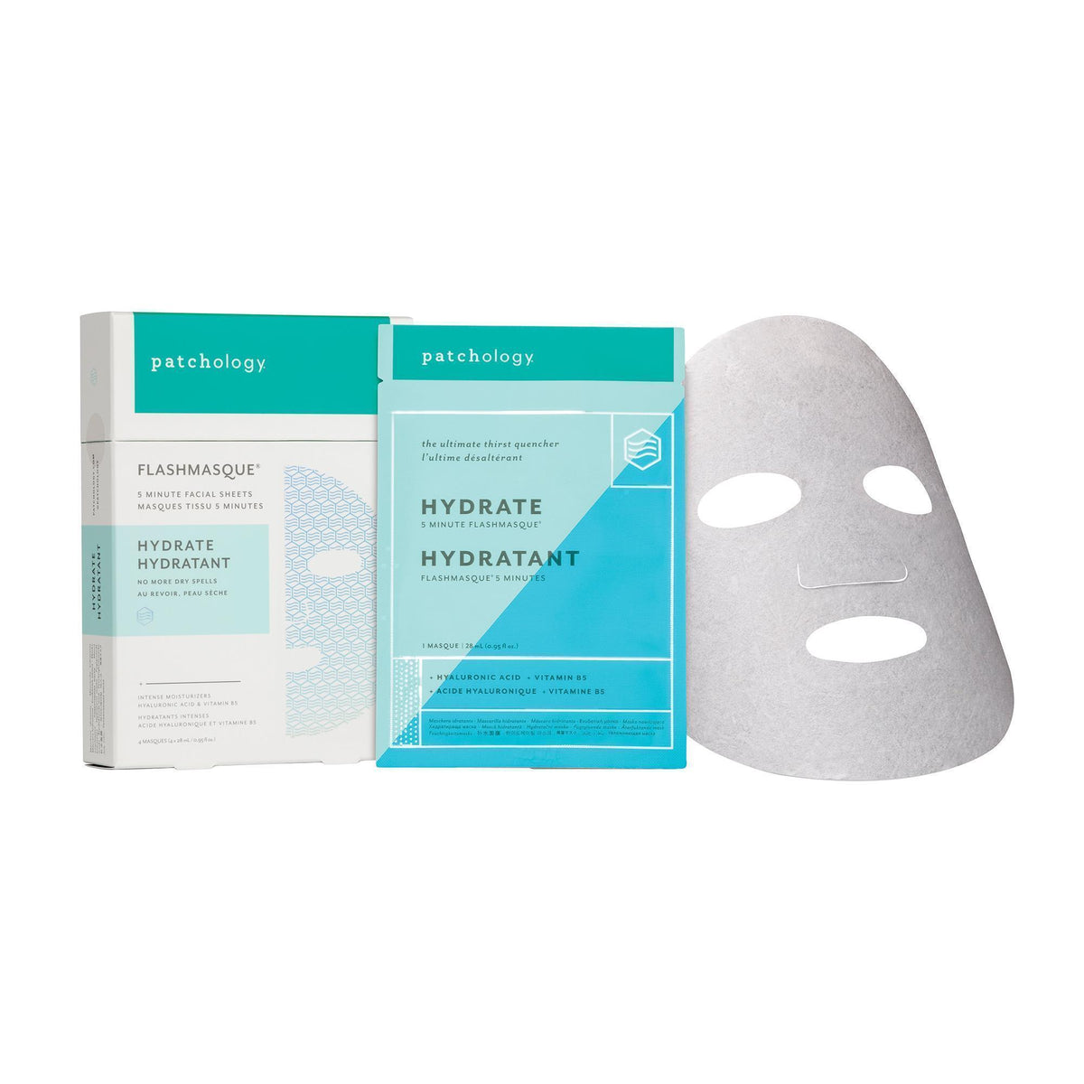 Patchology Hydrate FlashMasque 4 Pk.