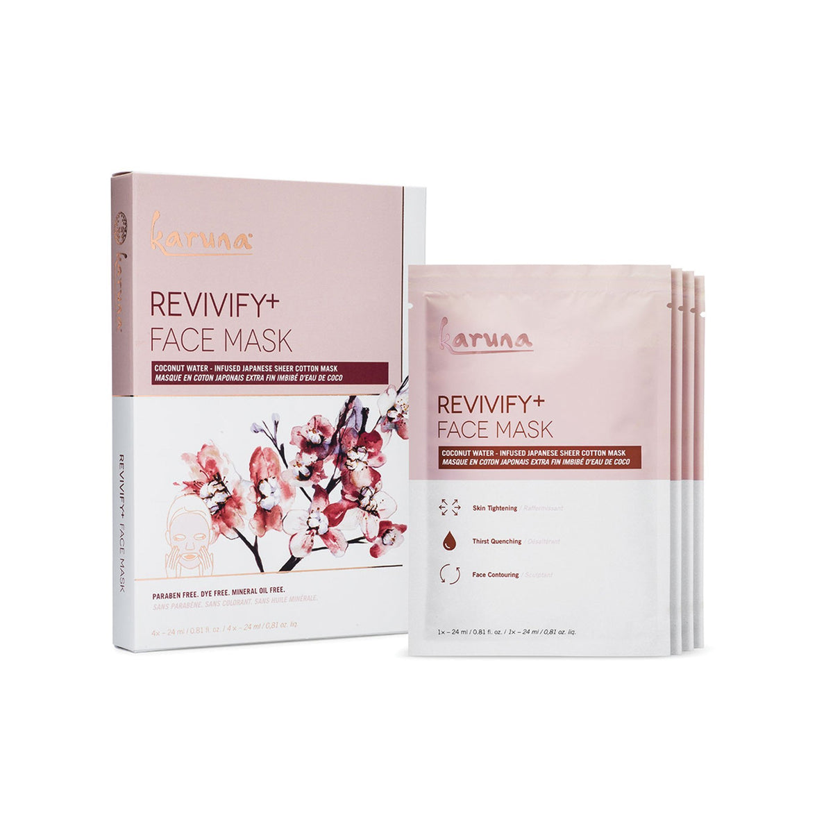 Exfoliants, Peels, Masks & Scr Karuna Revivify Face Mask Box – 4 Count