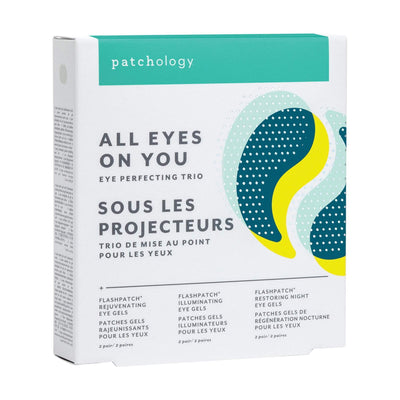 Exfoliants, Peels, Masks & Scr Patchology All Eyes On You Eye Perfecting Trio