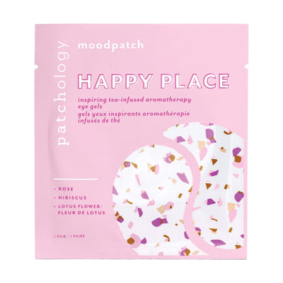 Face Masks & Eyewear Patchology Moodpatch Happy Place Inspiring Tea-Infused Aromatherapy Eye Gels, 5 Pairs