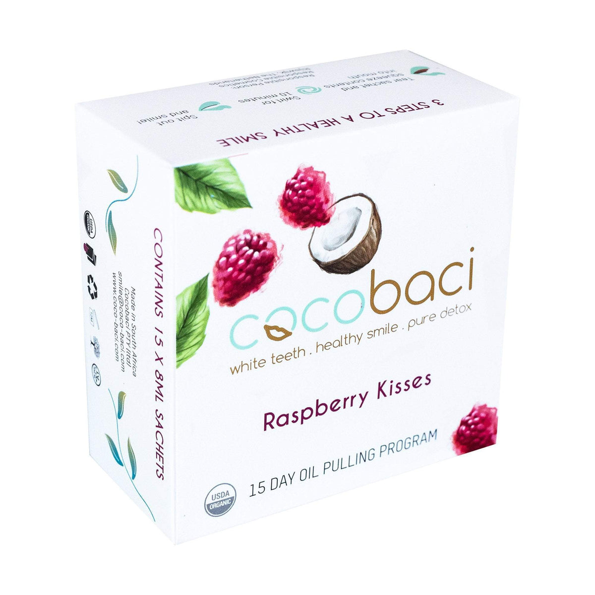 Cocobaci Raspberry 15 Day Oil Pulling Program