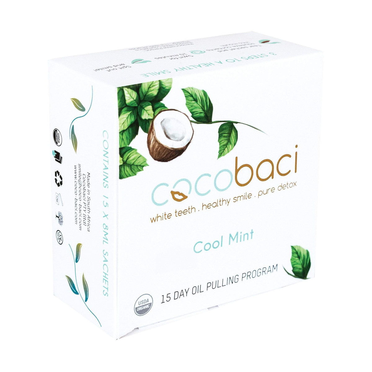 Cocobaci Cool Mint 15 Day Oil Pulling Program
