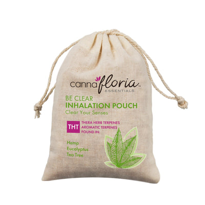 Cannafloria Inhalation Pouch, Be Clear, 2 Pack