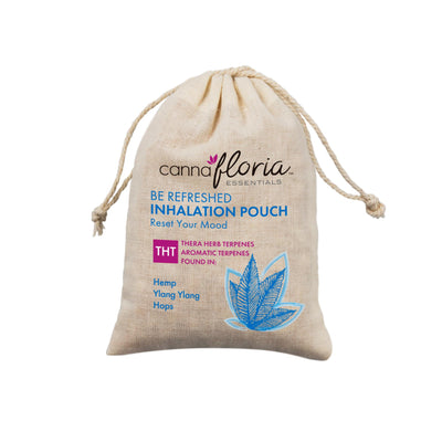 Cannafloria Inhalation Pouch, Be Refreshed, 2 Pack