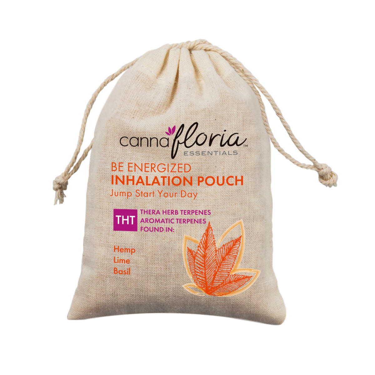 Cannafloria Inhalation Pouch, Be Energized, 2 Pack