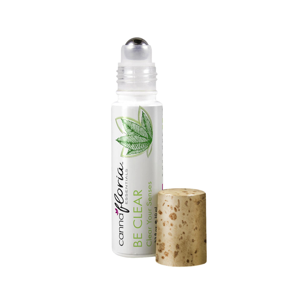 Cannafloria Aromatherapy Roll-On, Be Clear