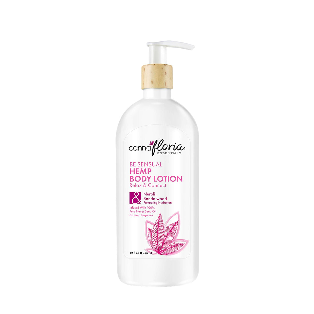 Cannafloria Hemp Body Lotion, Be Sensual