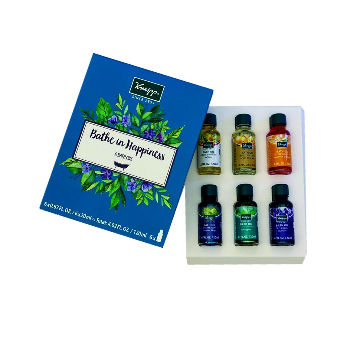 Gift Sets Kneipp Bathe in Happiness Bath Oil Set, 6pc