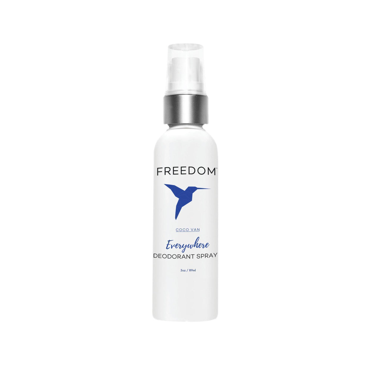 Makeup, Skin & Personal Care Freedom Natural Deodorant Coco Van Everywhere Spray, 3 oz