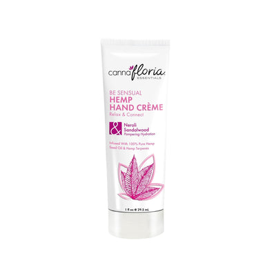 Makeup, Skin & Personal Care Cannafloria Hemp Hand Crème, Be Sensual, 1 oz