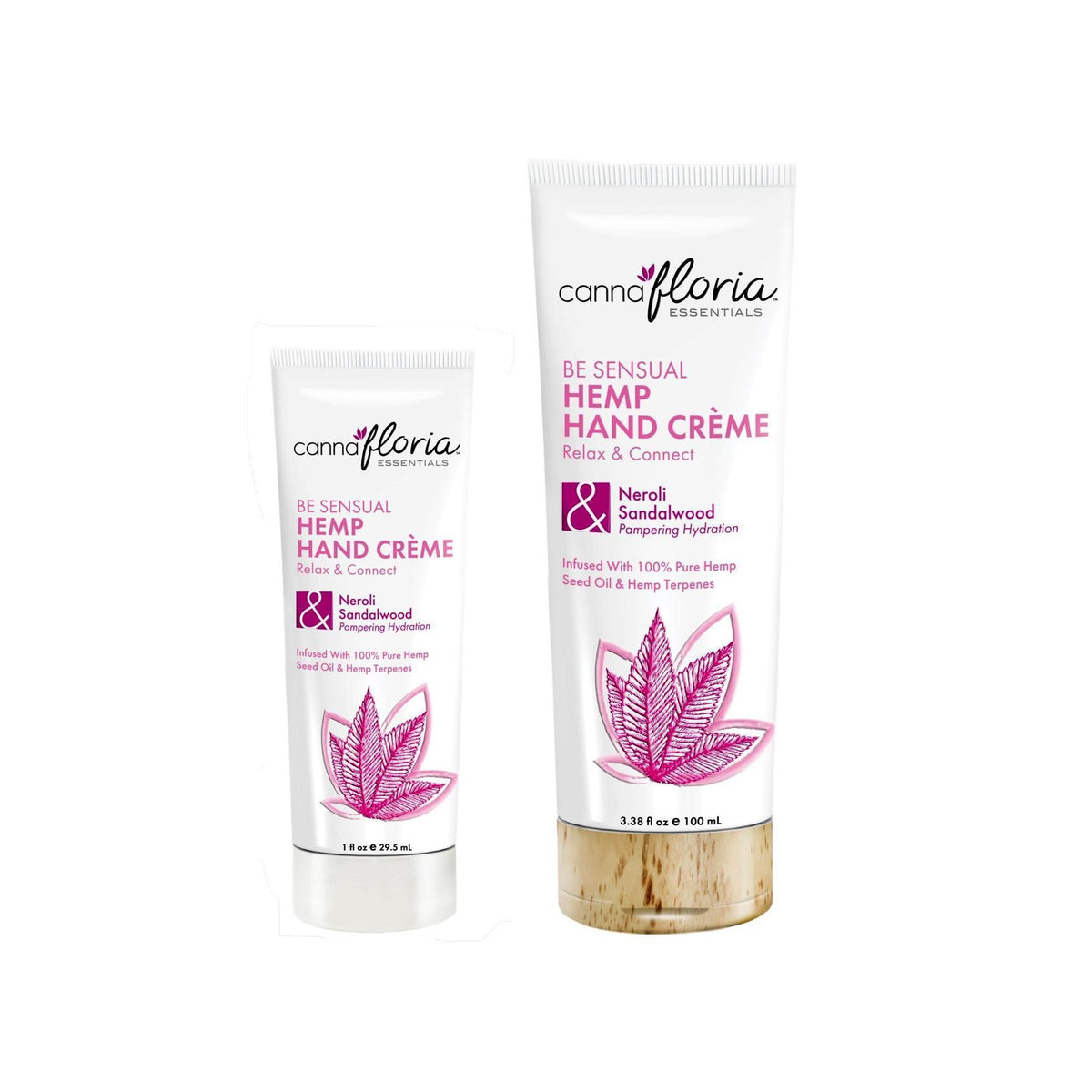 Makeup, Skin & Personal Care Cannafloria Hemp Hand Crème, Be Sensual