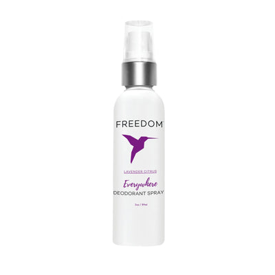 Makeup, Skin & Personal Care Lavender Citrus Freedom Natural Deodorant Everywhere Spray, 3 oz