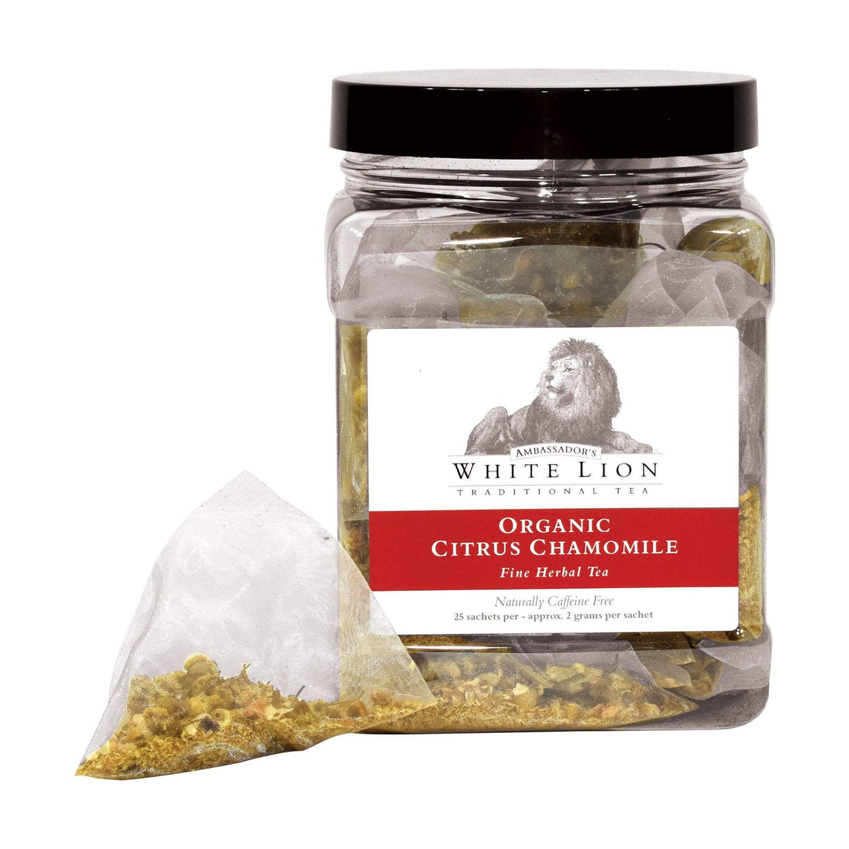 White Lion Organic Citrus Chamomile Tea