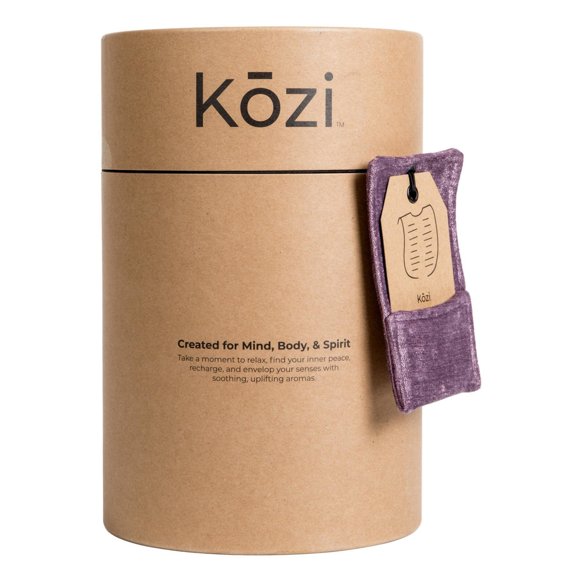 Therapy Wraps & Packs Kozi Revitalizing Back Wrap, Amethyst