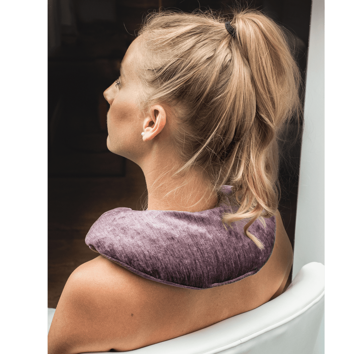 Therapy Wraps & Packs Kozi Soothing Neck Wrap, Amethyst