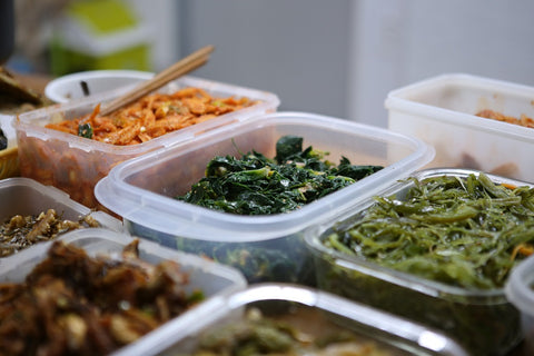 Avoid EDCs in the kitchen, don't store food in plastic containers and avoid heating them