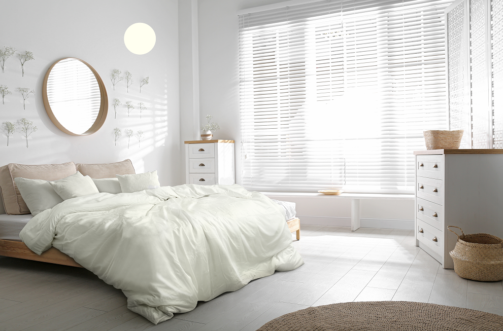 Bambaw bamboo beddings in Ivory