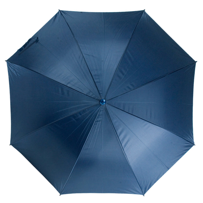 Lightning resistant automatic umbrella with bakelite shaft and straight rubber handle. Size Ø 132 cm