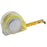 3m Tape measure with lock and belt clip. Size 6 x 5,5 x 2,6 cm