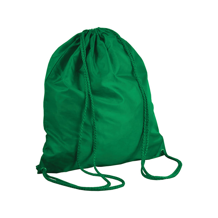 Polyester backpack with drawstring closure and reinforced corners Product size 37 X 40 CM