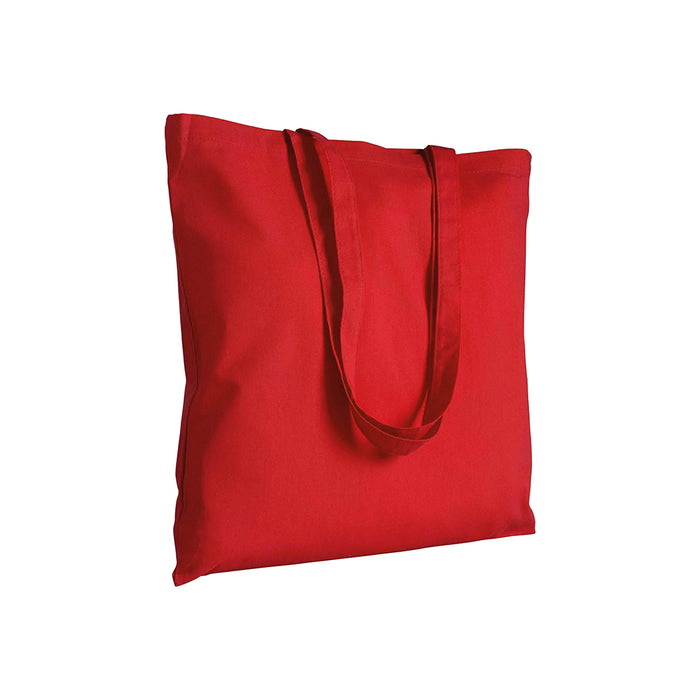 280 g/m2 canvas shopping bag, long handles. Product size 38 X 42 CM