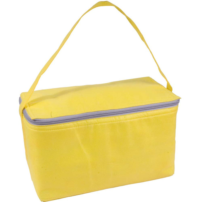 Non-woven fabric cooler bag with silver interior Product size 32 X 18 X 18 CM