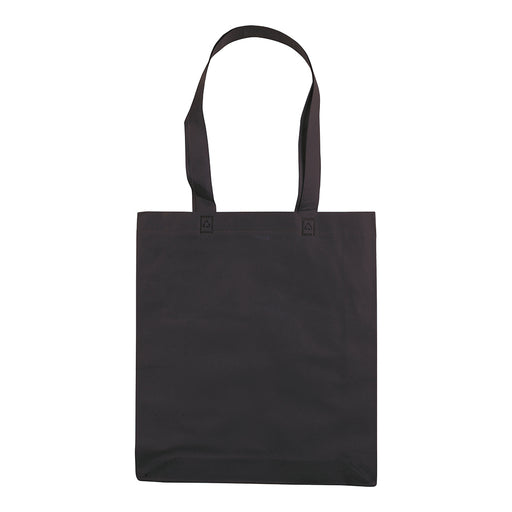 Heat-sealed 70 g/m2 non-woven fabric shopping bag, long handles. Product size 36 X 40 CM