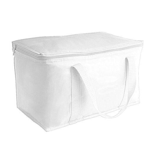 Cooler bag with silver interior Product size 34 X 21 X 20 CM