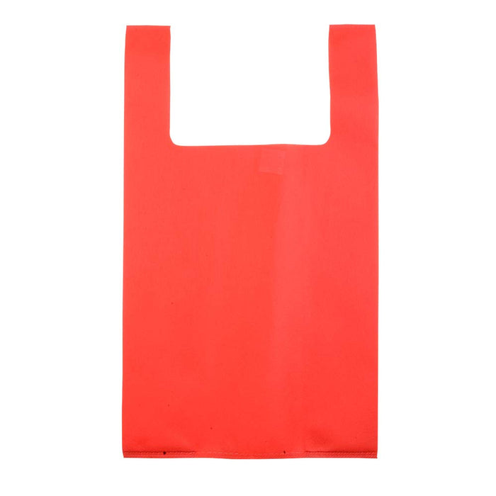 Heat-sealed 70 g/m2 non-woven fabric shopping bag. Product size 32 X 55 X 18 CM