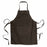 30% cotton/70% polyester (160 g/m2) long cooking apron with front pocket and adjustable tie length, 65 x 80 cm