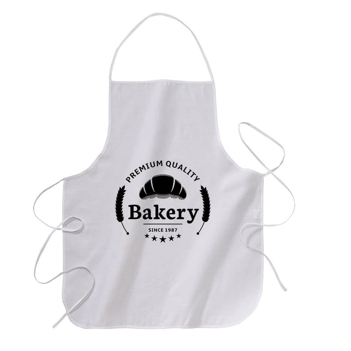 30% cotton/70% polyester (160 g/m2) cooking apron with front pocket, 68 x 72 cm