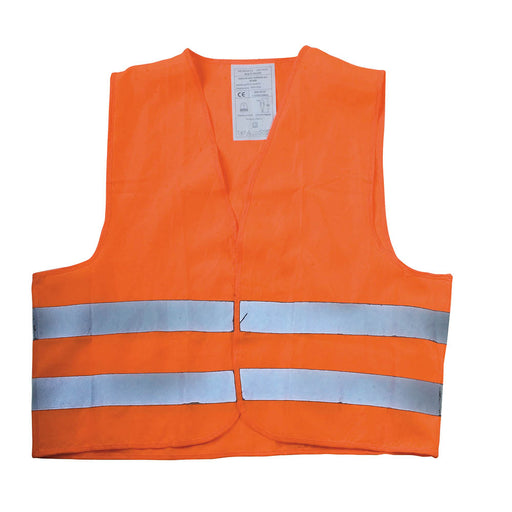 Fluorescent safety vest, One size