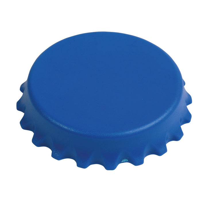 ABS and metal, bottle top-shaped, screw-top and bottle opener with magnets
