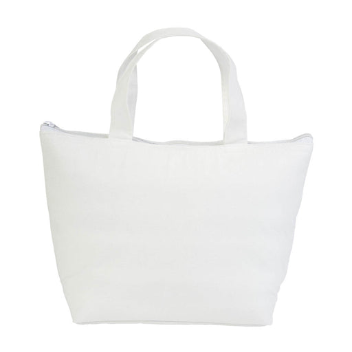 Non-woven fabric mini cooler bag with silver interior Product size 29 X 19 X 9 CM