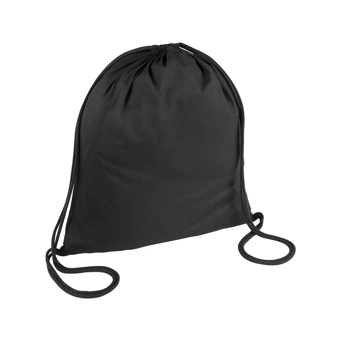 95 g/m2 cotton backpack with drawstring closure