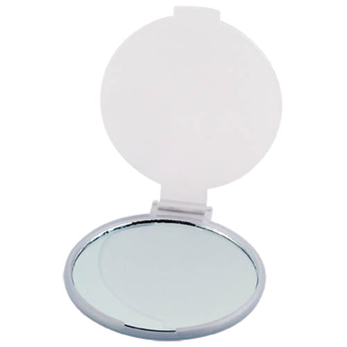 Folding mirror in a wide range of bright frosted colors