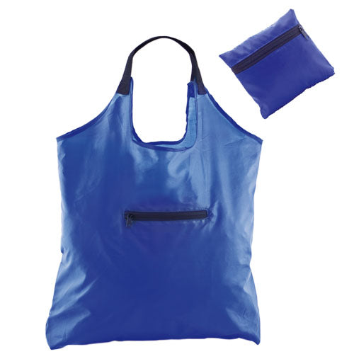 Folding bag in resistant and soft polyester 190T in a varied range of bright tones
