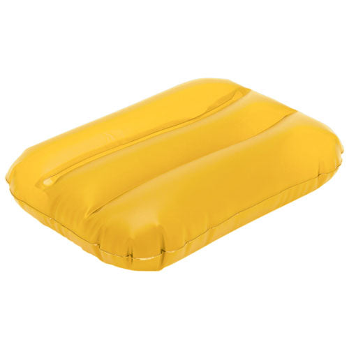 Inflatable pillow in resistant PVC and in a varied range of bright tones