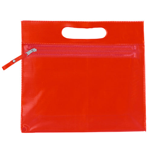 Multi purpose beauty bag in resistant translucent PVC of varied range in bright tones