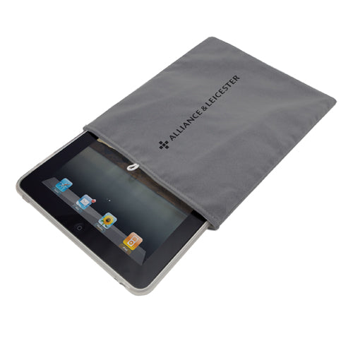 Lightweight, soft microfiber case for tablets up to 12 inches