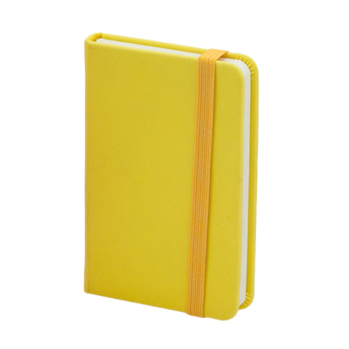 Minimalist design notepad, with soft-touch covers and PU leather finish in bold colors