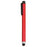 Soft pointer with glossy finish in bold colors and with clamping clip